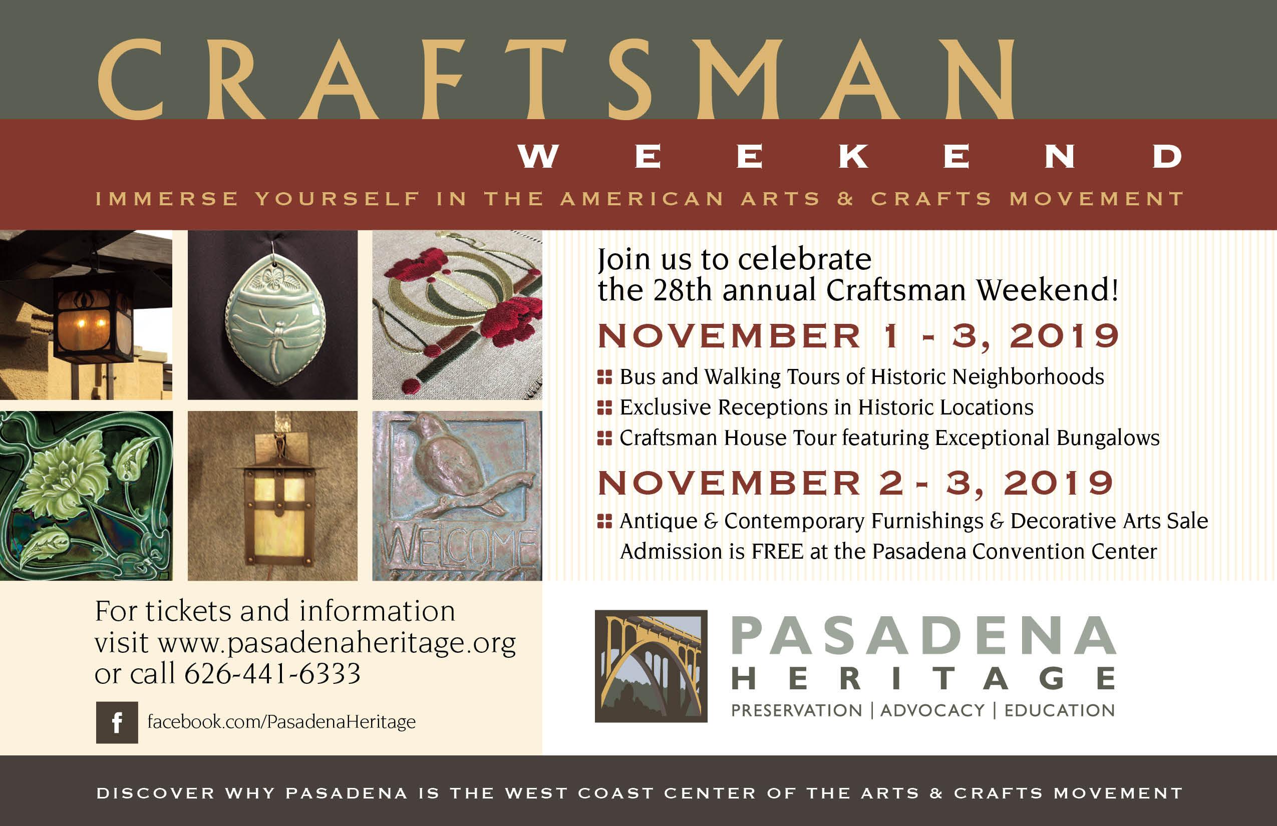 Craftsman Weekend