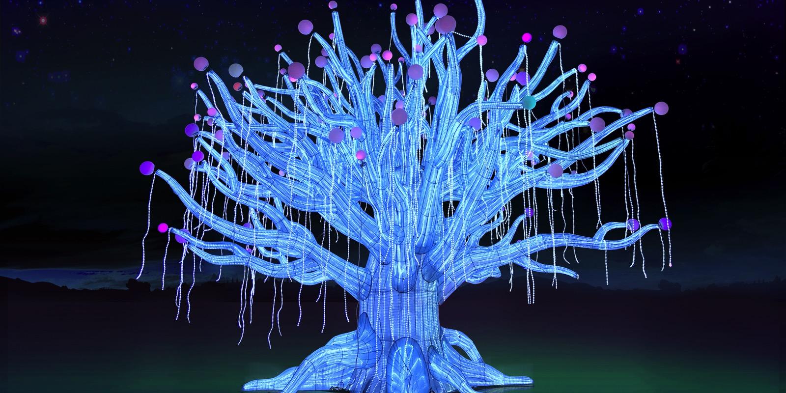 Moonlight Forest - Magical Lantern Art Festival
