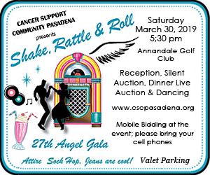 Shake Rattle and Roll for the Cancer Support Community, Sat., March 30th, 5:30pm