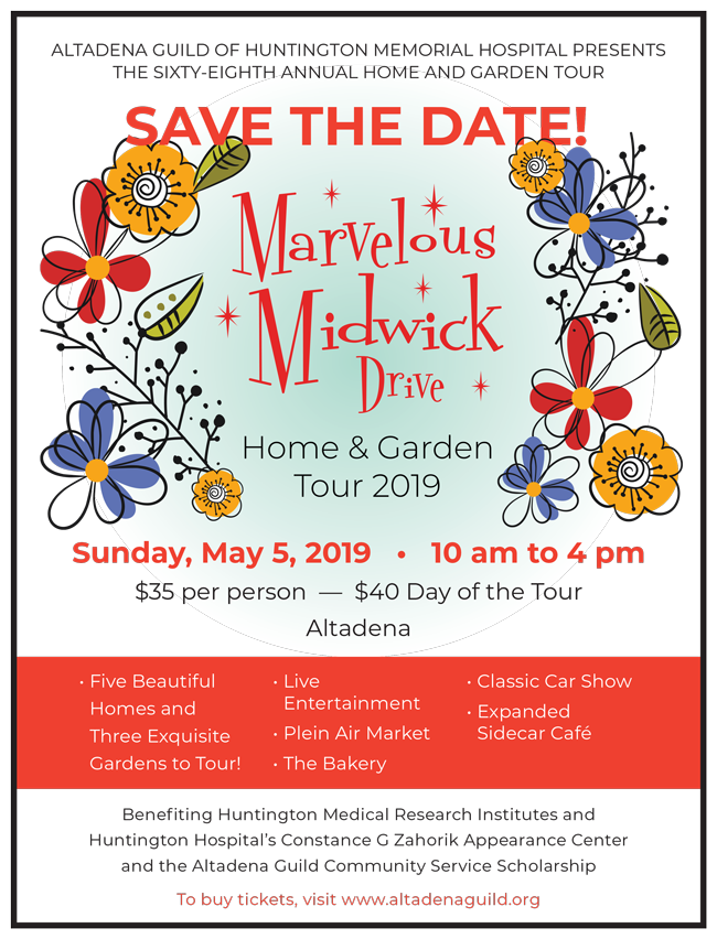 Save The Date For the Marvelous Midwick Home Tour, May 5th
