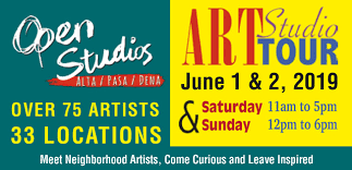 Open Studios Art Tour Sunday June 2nd from 12-6!