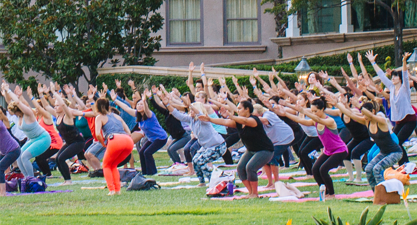 Yoga Tonight at The Langham Horseshoe Gardens 6:30