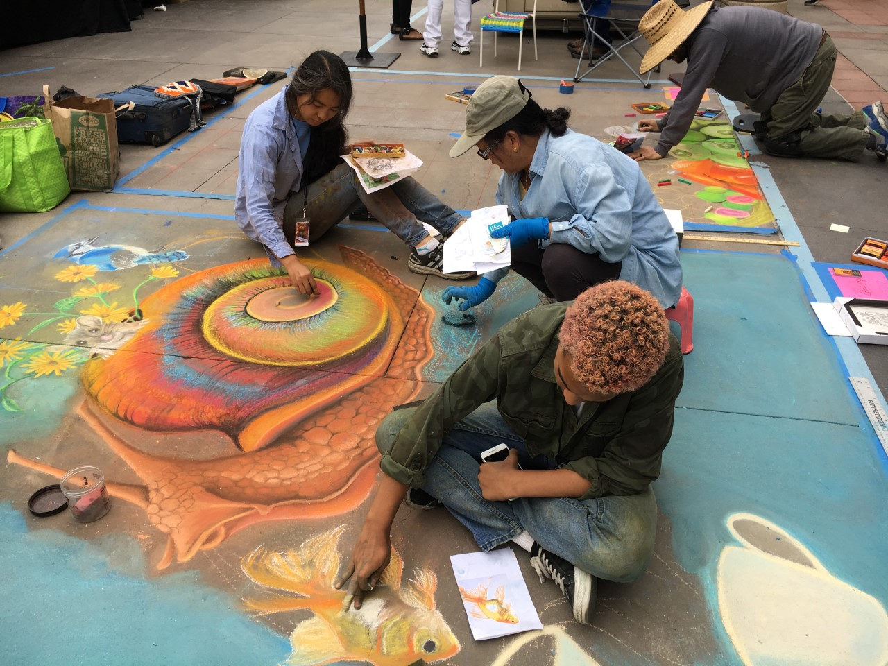 Pasadena Chalk Festival June 15-16